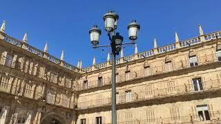La Plaza Mayor de Salamanca, punto de encuentro de vecinos y turistas