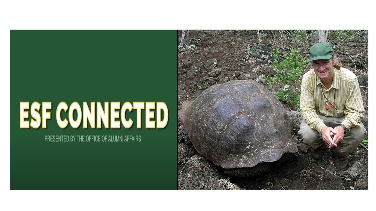 Image for ESF PRESENTS:  Restoring the Giant Tortoises of Galapagos:  An Evening with Dr. James Gibbs webinar