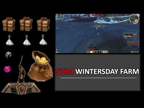 Best SOLO Wintersday Farm Money Maker | Title Point Farm Included!
