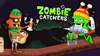 НОВЫЙ ЗОМБИ ВОРИШКА Детский летсплей по мульт игре про ОХОТНИКОВ НА ЗОМБИ Zombie Catchers