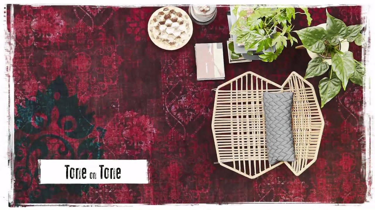 Vintage Tapijt Bonaparte : Bonaparte vintage tapijt voor meer persoonlijkheid in je interieur