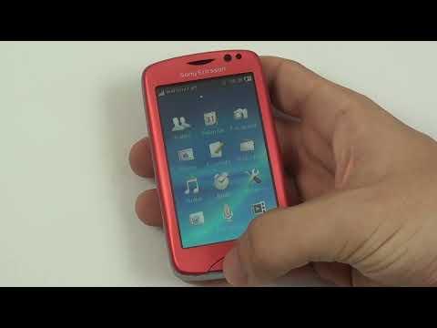 Sony Ericsson Txt Pro - prostředí