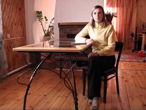 padded stool DIY - YouTube
