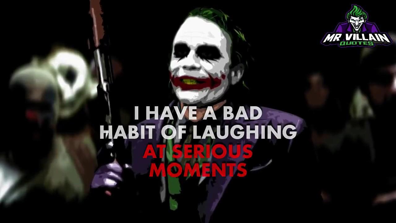 hurt me i will smile back mr villain quotes hahahaha