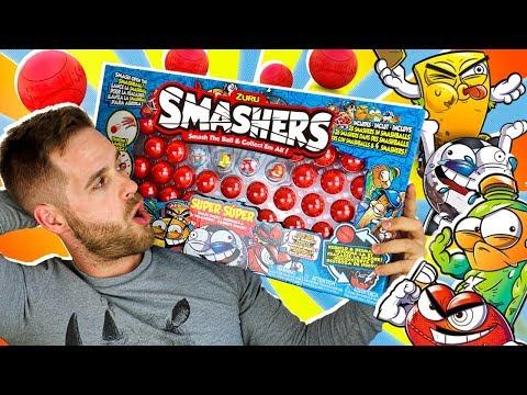 Smashers Series 1 Sports UNBOXING SUPER SMASH PACK 30 en Pe Toys