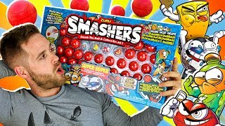 Smashers Series 1 Sports UNBOXING SUPER SMASH PACK 30 en Pe Toys