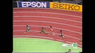 Antonio Reina Semifinal Cto  Mundo Budapest P C  800 m l