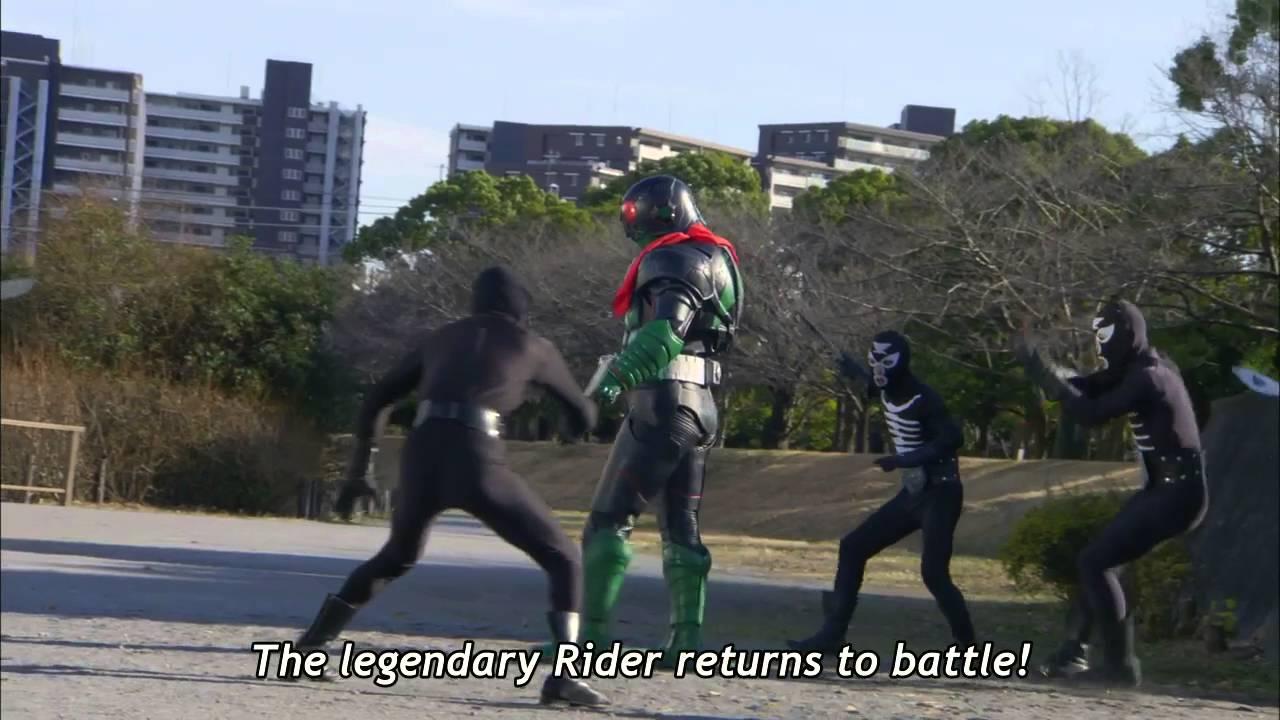 Kamen Rider 1 (2016) movie trailer (english subbed)