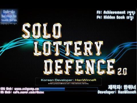 StarCraft 2, Arcade, Lottery Defence All 40 hidden units.