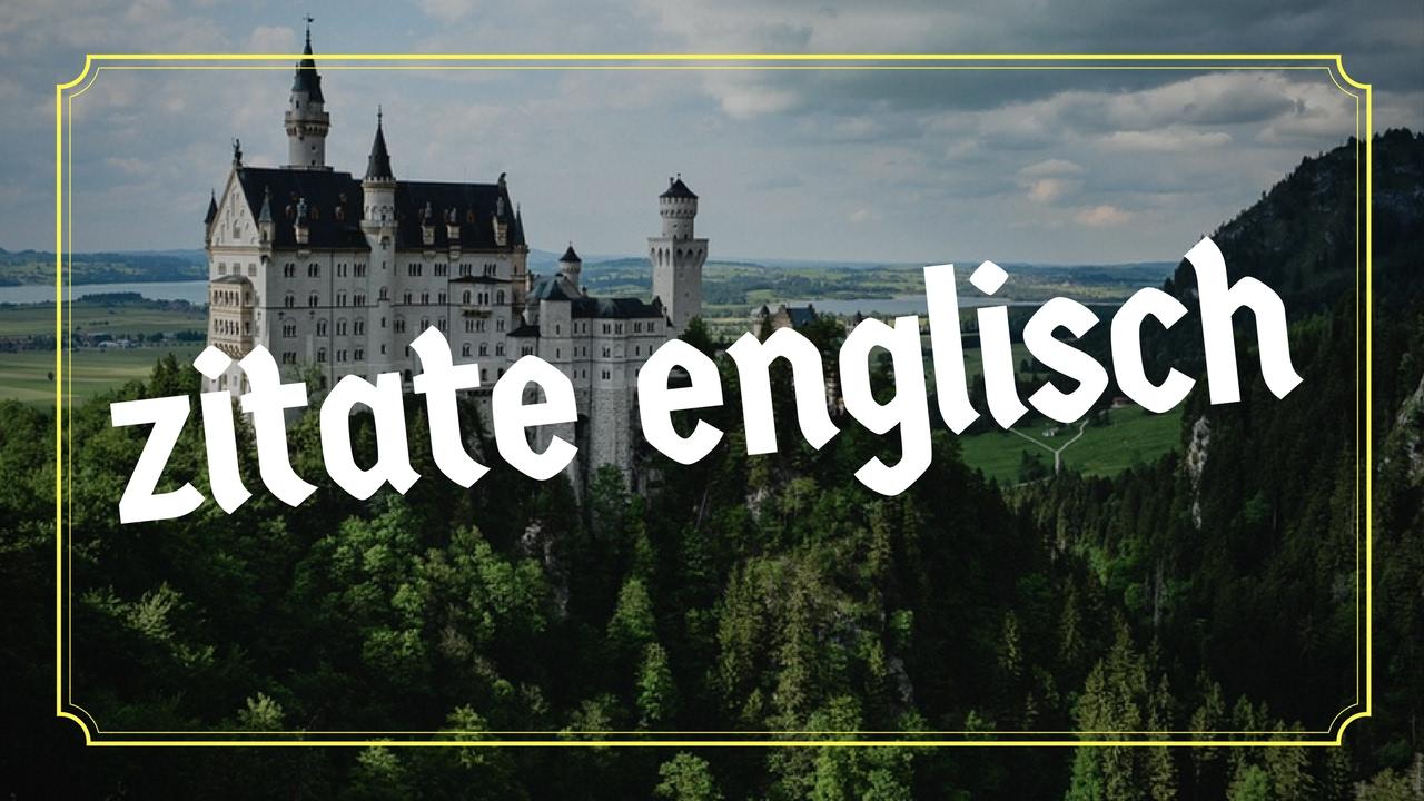 englisch zitate