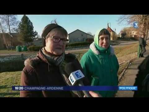 19/20 France 3 - Omniprésence du FN lors de la visite François Hollande dans les Ardennes