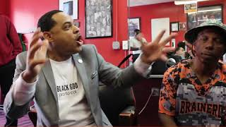 NEWFACE MAGAZINE LV MEDIA FEATURING: Dr Wesley Muhammad speaking out at the Barbershop...The Real!