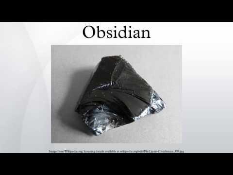 Dating obsidian