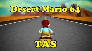 [TAS] Desert Mario 64 in 6:32:38.62 (really)