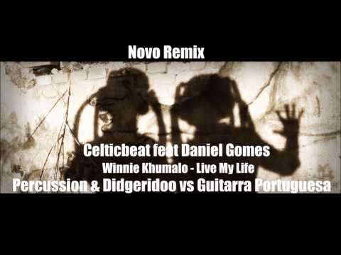 Winnie Khumalo - Live My Life audio remix Two Beat feat Daniel Gomes Guitarra Portuguesa.wmv