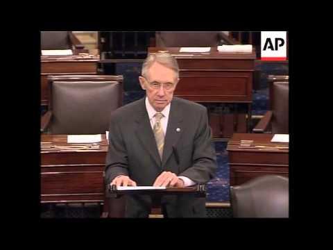 Senate Tackles Gay Marriage Ban, Bush Comments And Reaction