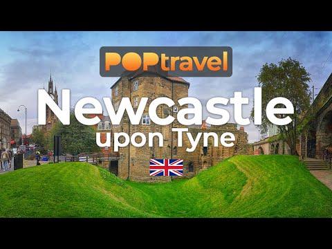 Walking in NEWCASTLE / England (UK) 🇬🇧- Newcastle upon Tyne (2019) - 4K 60fps (UHD)