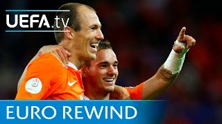 EURO 2008 highlights: France 1-4 Netherlands