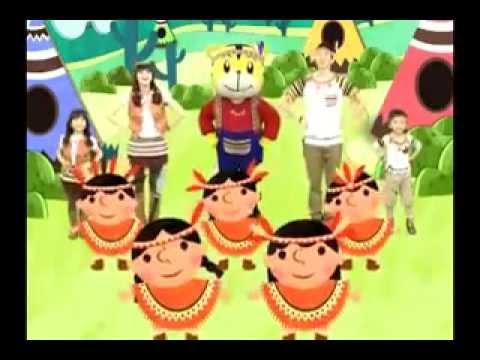 小小印第安 xiǎo xiǎo yìn dì ān Ten Little Indian