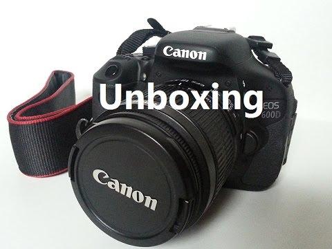 ASMR/Whisper: Equipment Unboxing - Canon 600D