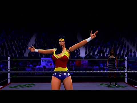 Daphne Blake vs. Wonder Woman, Steel Cage (Request)