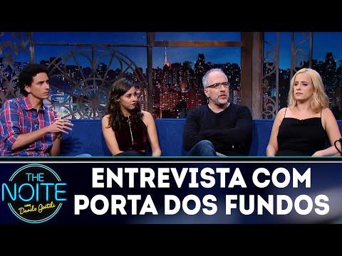Entrevista com Porta dos Fundos| The Noite (13/03/18)