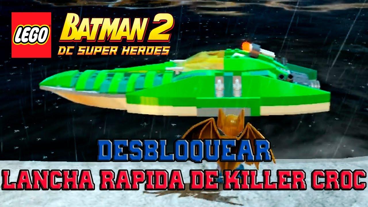 LEGO Batman 2: DC Super Heroes - Desbloqueando Vehículos ...