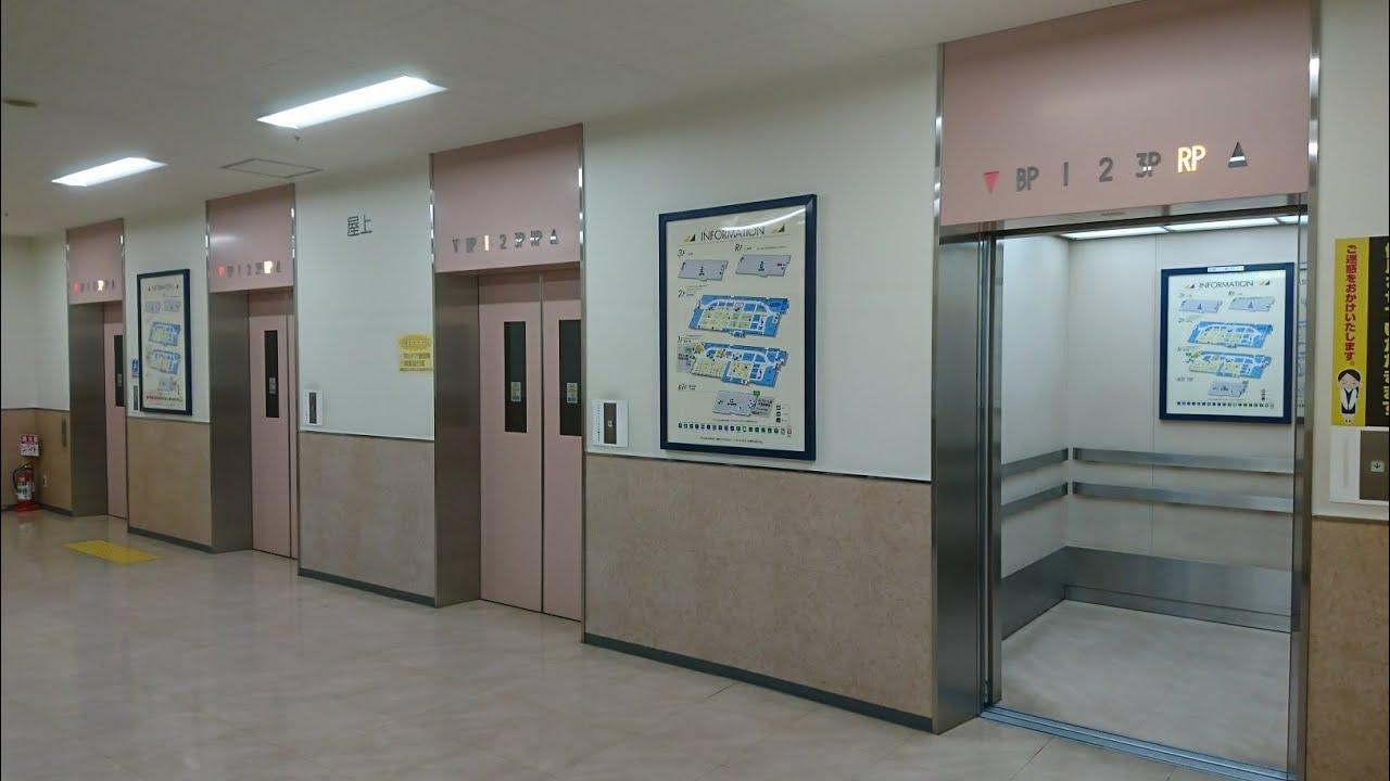 三菱エレベーター アピタ長津田店 - YouTube