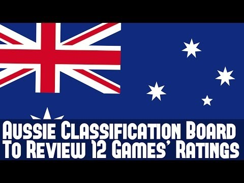 Australian Classification Review Board To Review 12 Games' Age Ratings - Info & Thoughts
