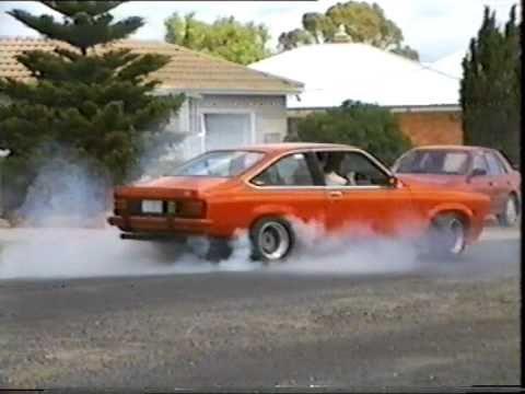 Smithton Tasmania Torana Burnouts Christmas Day 1994