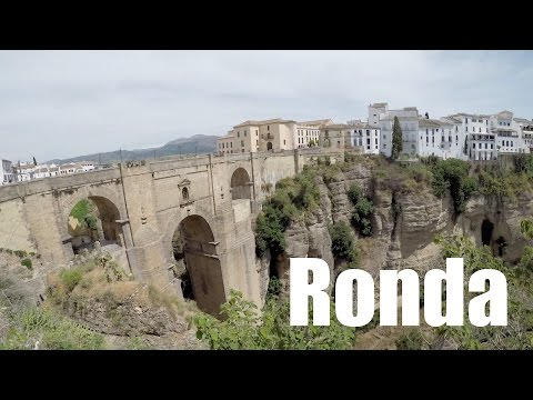 Trip to Ronda in Spain   4K
