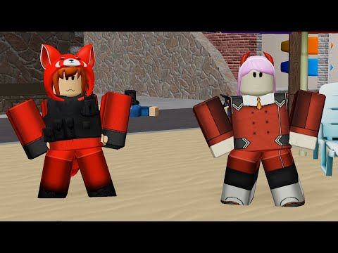 Roblox Zero Two Get Robux Points Zero Two And Red Panda Just Vibing In Roblox Youtube