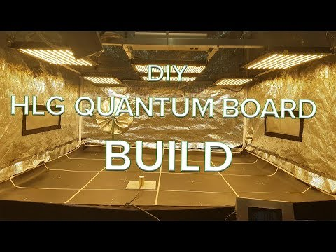 DIY HLG Quantum board build test and optimisation HLG QB288 V2 - YouTube