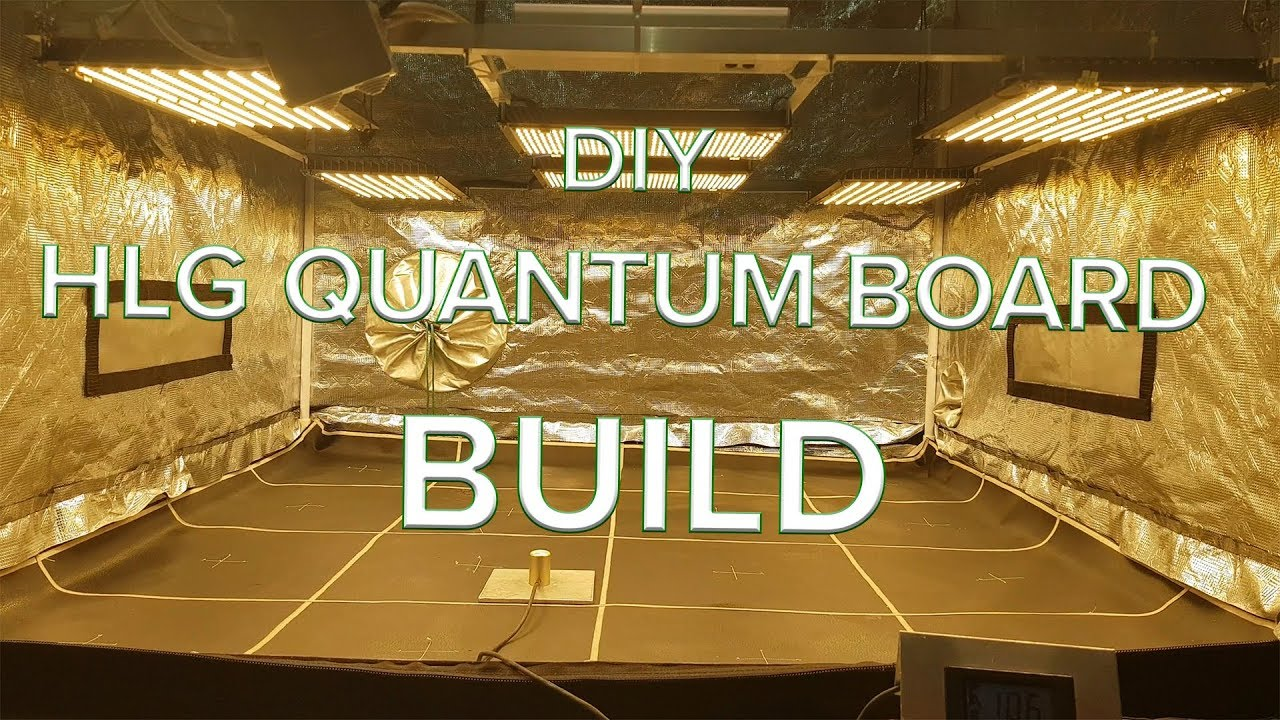 DIY HLG Quantum board build test and optimisation HLG QB288 V2