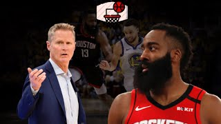 Steve Kerr Throws Shade At Houston Rockets When Talking About Warriors Next Season