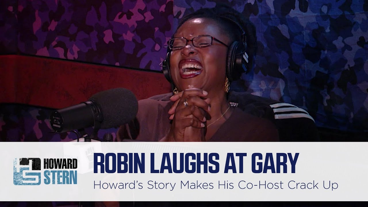 Is This the Hardest Robin Quivers Has Ever Laughed on the Stern Show? (2007)