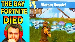 The Fortnite We Used To Love Died On This Exact Day