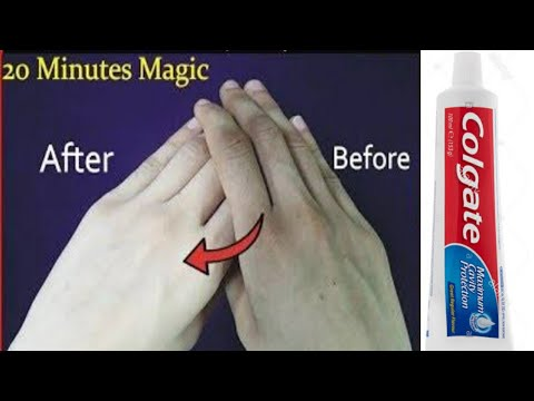 instant skin whitening colgate toothpaste at home| diy instant hand whitening mask| skin fair mask