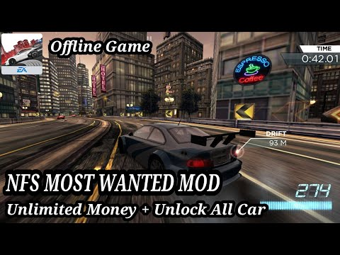 Need For Speed Most Wanted (MOD) Terbaru 2019! Unlimited Money + Unlock All Car