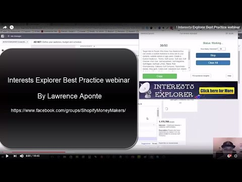 Interests Explorer Best Practice webinar !