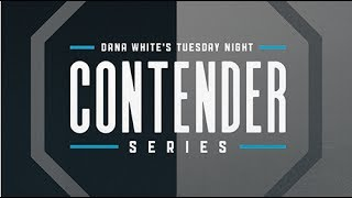 Dana White's Tuesday Night Contender Series Week 2: Pre-fight Show