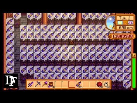 Stardew Valley - Iridium Ancient Wine Vs Starfruit Wine