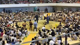 7/30大相撲大津場所稀勢の里VS鶴竜 稀勢の里 検索動画 5