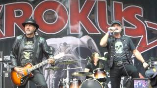 Krokus - Intro + Long Stick Goes Boom (live Masters Of Rock Festival Vizovice 11/07/15)