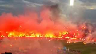 pyro show from paok vs osfp 1 0 16 04 14