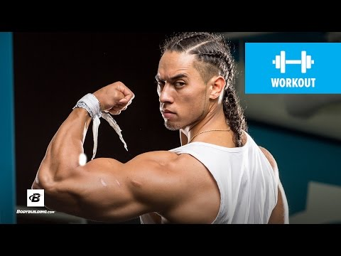 Raynor Whitcombe's Shoulders, Arms, & Power Conditioning Workout