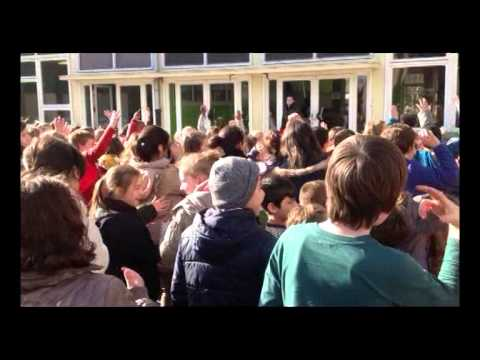 Move Tegen Pesten 2014 Basisschool GO Gentbrugge