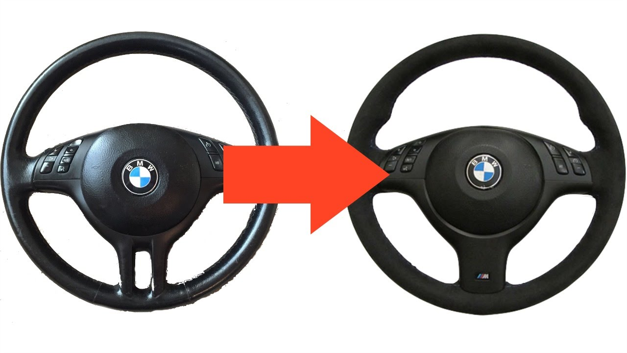 maxresdefault e46 sport steering wheel to m3 steering wheel diy youtube BMW 2002 Steering Wheel at cita.asia
