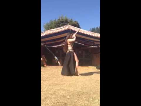 Bellydance by Natalie at Benbow Summer Arts & Music Festival 2014