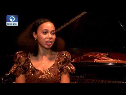 British Nigerian-Romanian Pianist Rebeca Omordia Piano Recital In Lagos